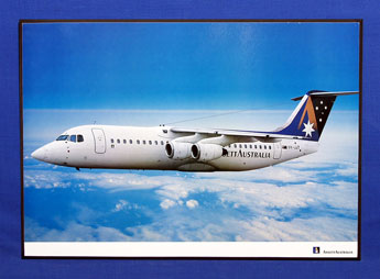 AIRCRAFT POSTER (BAE 146 (VH-JJT)